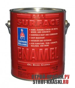Эмаль Sherwin-Williams All Surface Enamel Oil Base