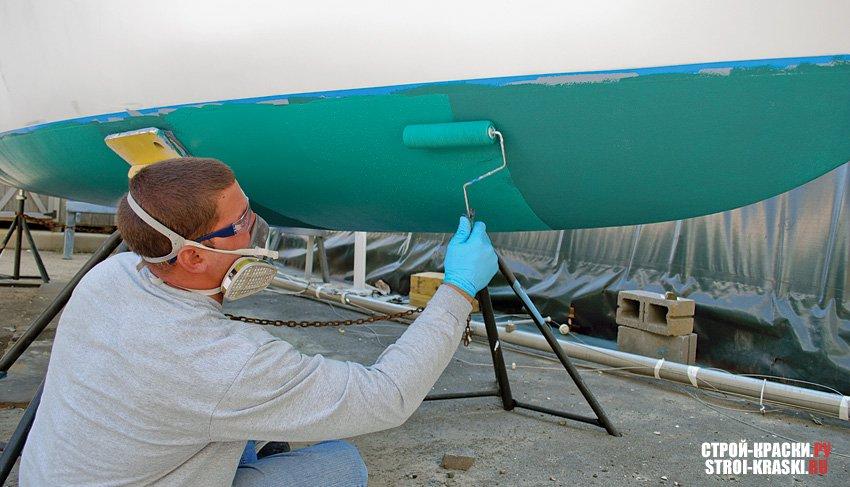 технология окраски алюминиевой лодки