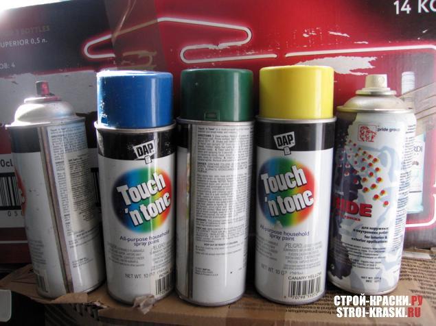 Баллончик краски для автомобиля цена