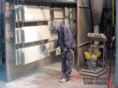 изготовление и продажа металлических дверей с порошковой окраской