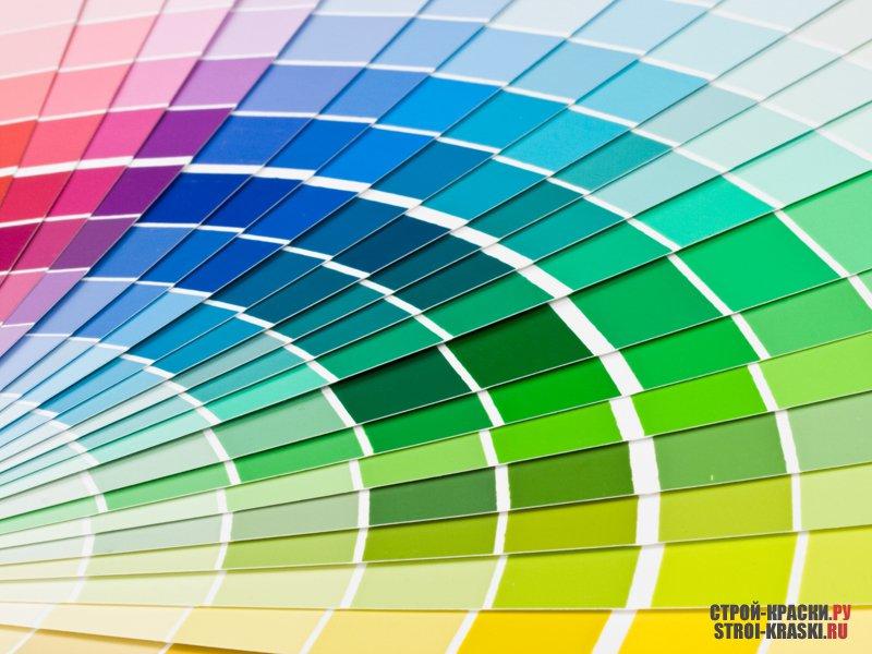 Краски цветовая гамма для стен гидроизоляция фундамента праймер