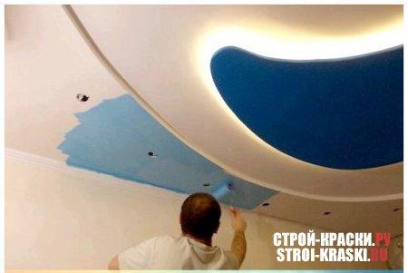 Акрилатная краска для потолка