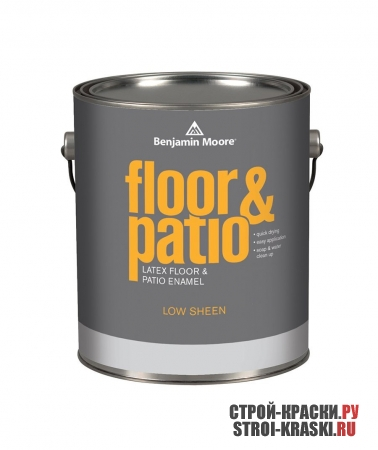 Краска Benjamin Moore Latex Floor & Patio Enamel